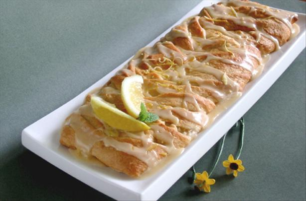 Lemon Apple Braid