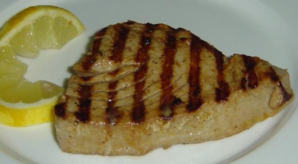 Marinated Tuna Steaks