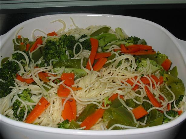 Vegetable Indulgence Pasta