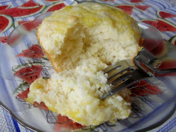 Texas Sized Lemon Muffins