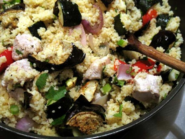Grilled Vegetable Couscous