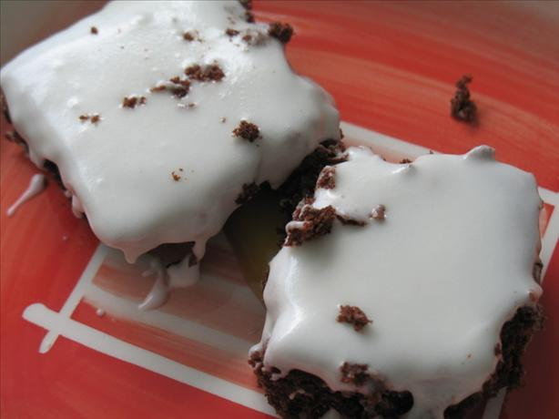 Ww 3 Points - Iced Chocolate Brownies