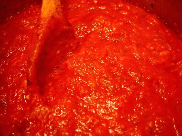 Bev's Own Tomato Sauce