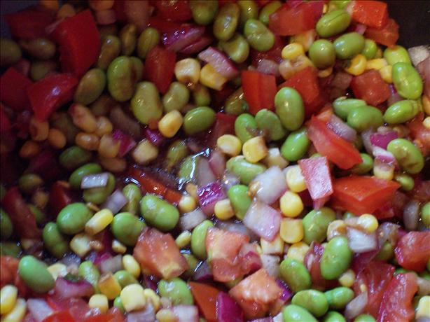 Edamame and Corn Salsa