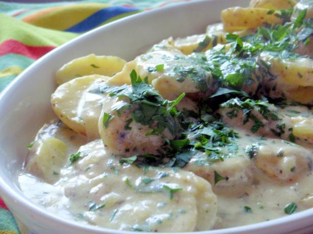 English Parsley Potatoes