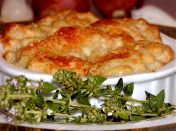 Shallot and Garlic Tarte Tatin With Parmesan Pastry