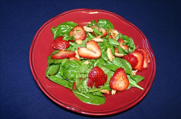 Sioux Lookout's Strawberry-spinach Salad