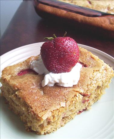 Strawberry Gingerbread