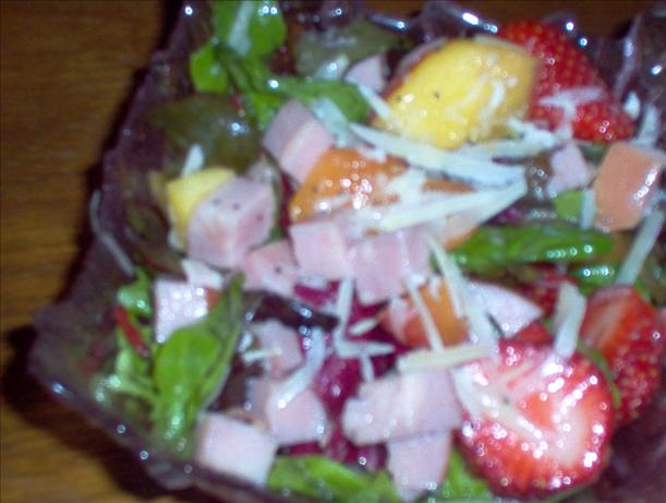 Ham and Fruit Salad