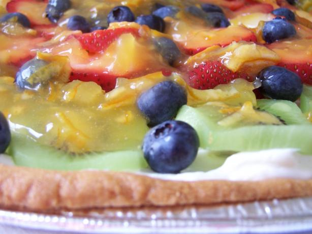 Fresh Fruit Pizza (Paula Deen)