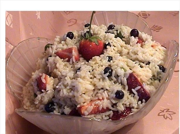 Berry Rice Salad