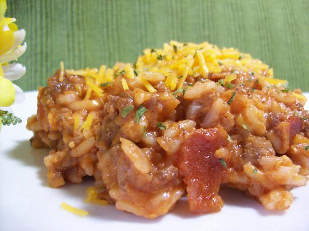 Bacon Cheeseburger Rice (Oamc)