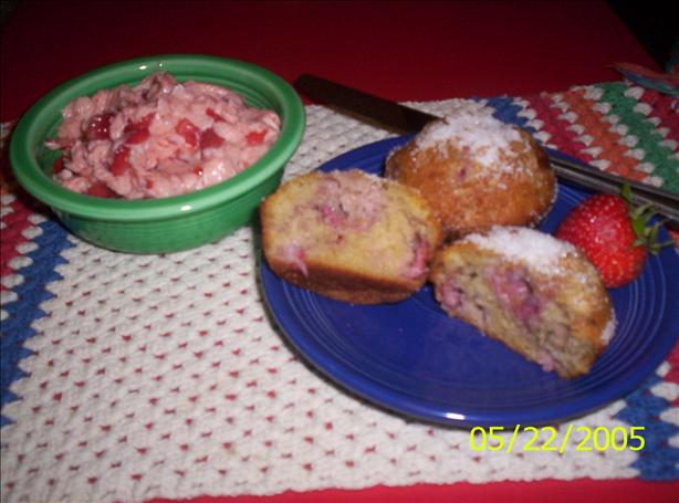Mouth Watering Strawberry Muffins