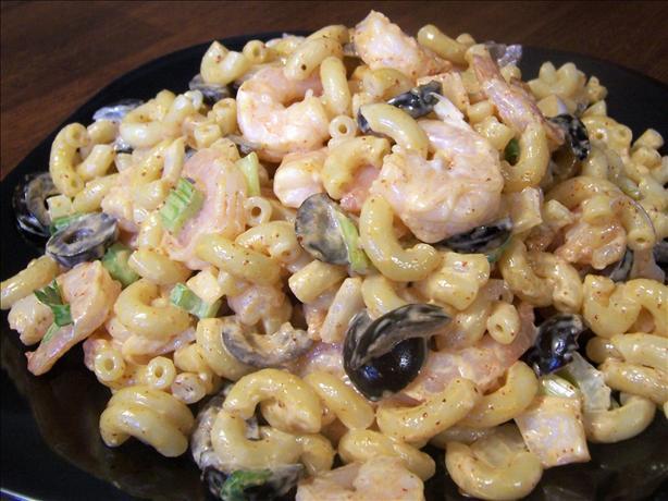 Ditalini Pasta Shrimp Salad