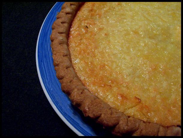 Lime-coconut Buttermilk Pie