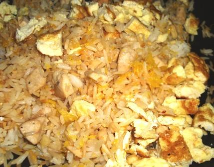 Chicken and Macadamia Fried Rice