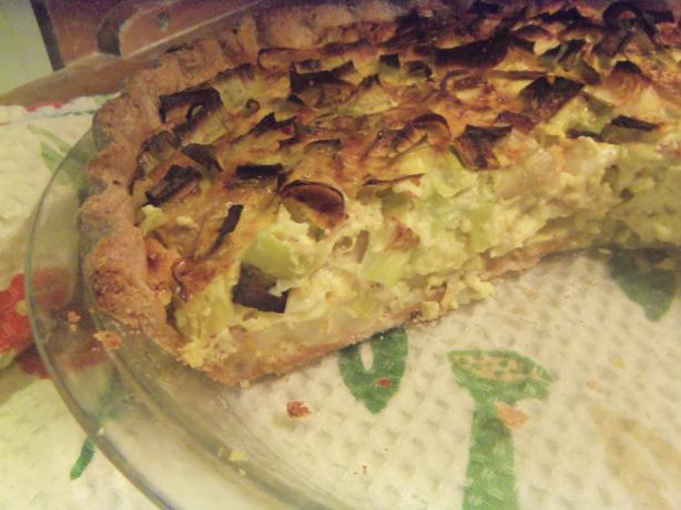 Potato Quiche