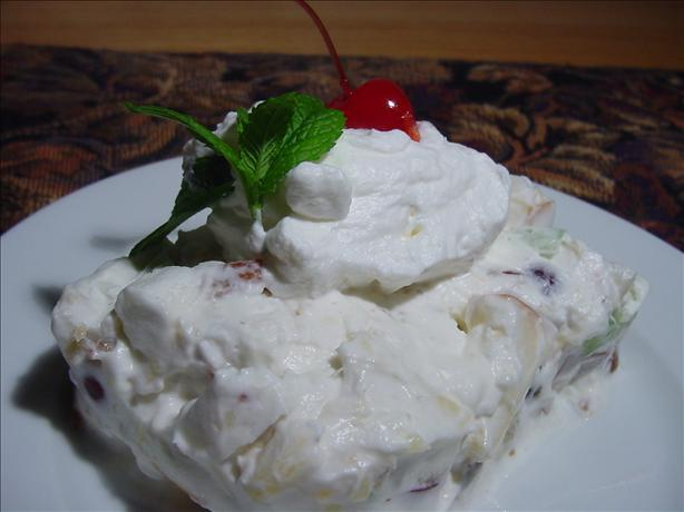 Golda's Frozen Waldorf Salad (Paula Deen)