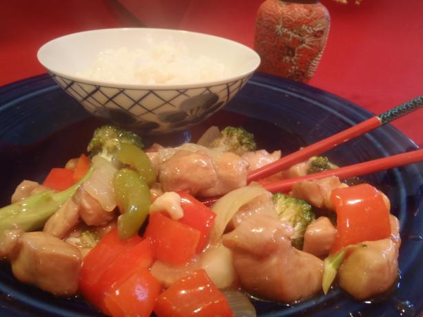 Cashew Chicken and Asparagus Stir Fry
