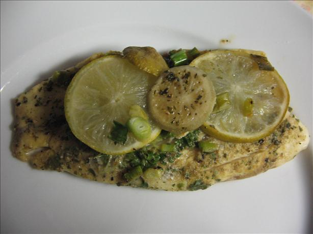 Cilantro Lime Fish
