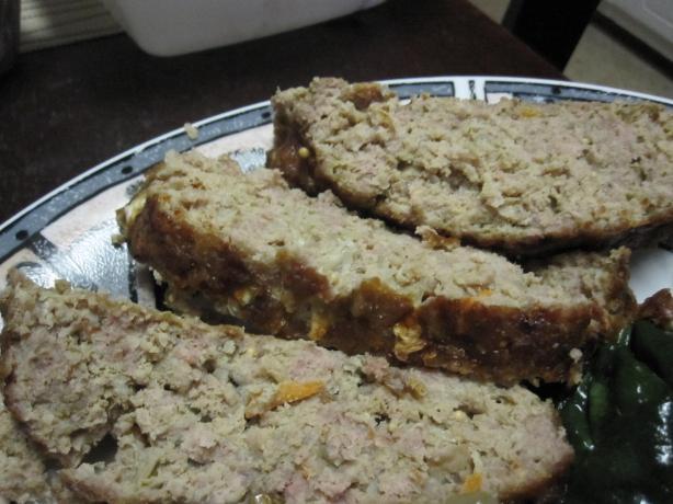 Low Carb Reuben Meatloaf
