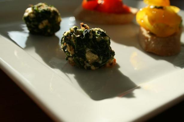 Herbed Spinach Balls