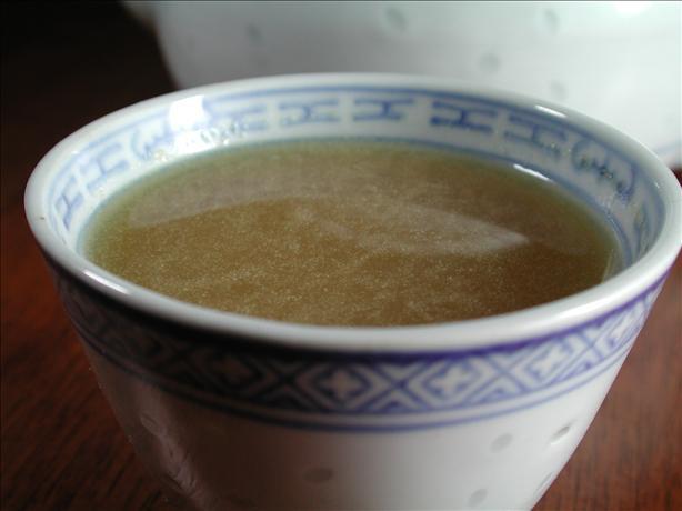 Ginger, Scallion Root Tea