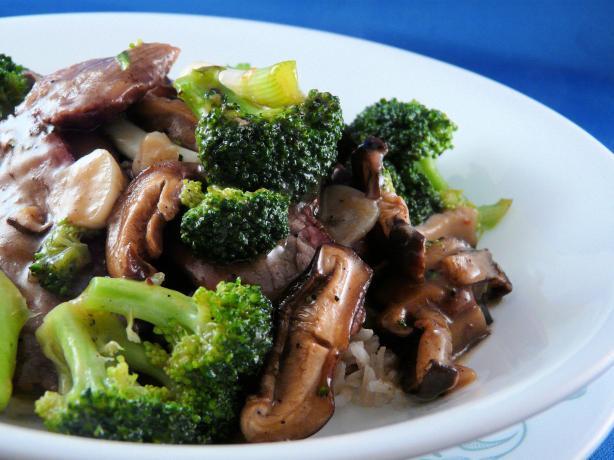 Stir Fried Broccoli With Beef