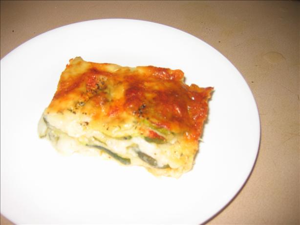 Zucchini and Brick Cheese Slices