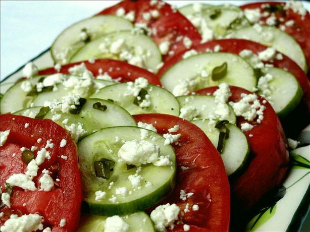 Marinated Tomato Platter