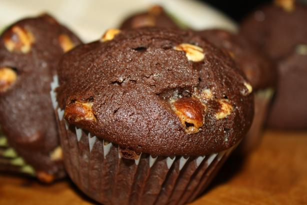 The Ultimate Chocolate Brownie Muffins