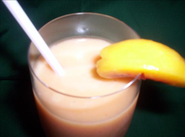 Peachy Colada (No Booze)
