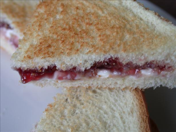 Cream Cheese and Jelly Sandwich