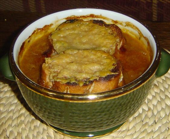 Onion Soup With Gruyere and Madeira