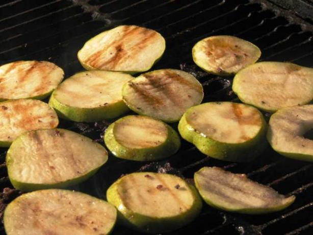 Ginger Grilled Pears