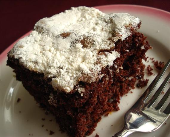 Yummy Chocolate Crumb Cake