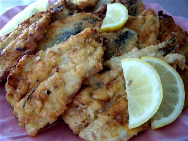 Crisp Fried Smelt - Smelts