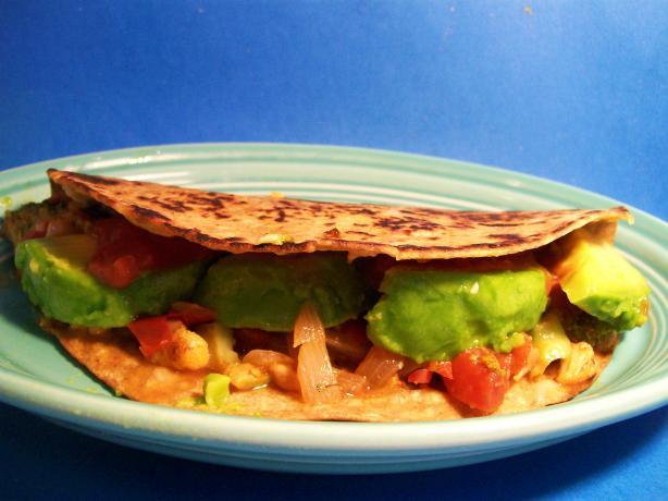 John's Vegetarian Quesadillas