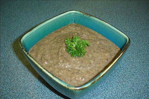 Delmonico's Puree of Portabella Mushroom Soup