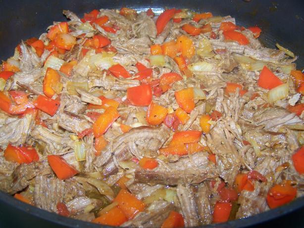 Pulled Beef - Venezuelan Pabellon Criollo