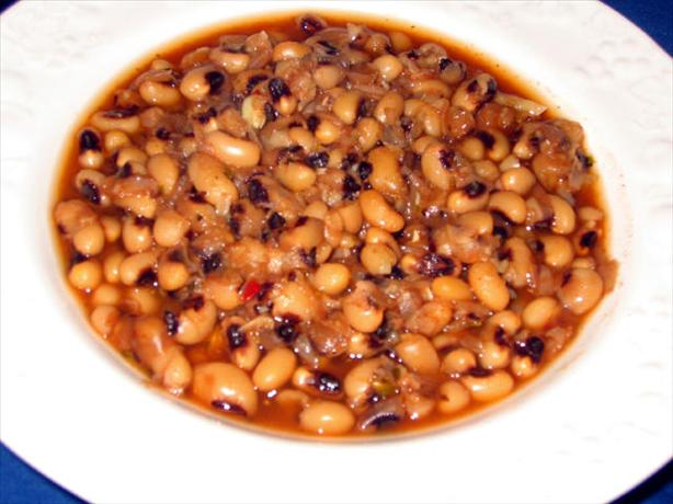 Black Eyed Peas With Herbs