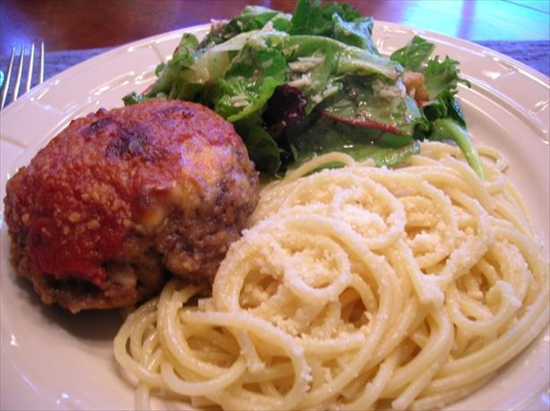 Parmesan Meat Patty Casserole