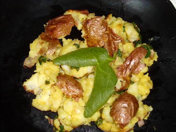 Smashing Potatoes and Spinach