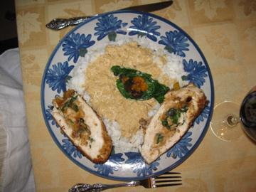 Chicken Roulade Susie