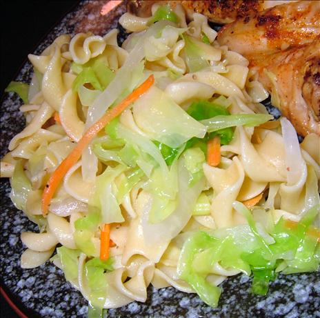 Easy Cabbage and Noodles