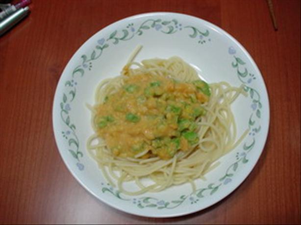 Healthy Creamy Kabocha (Pumpkin) Pasta