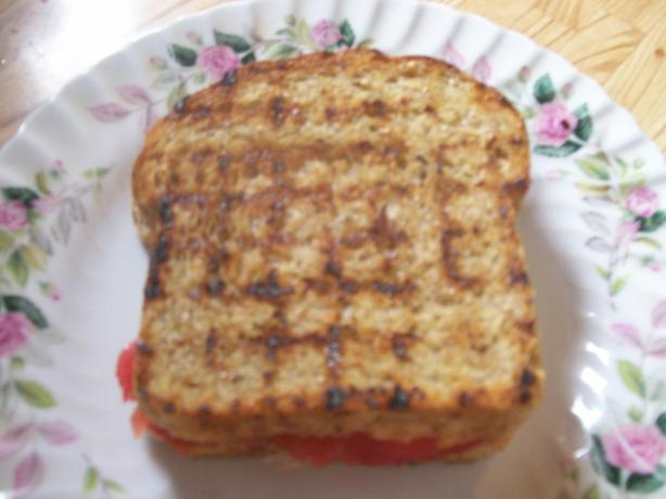 Tomato Sandwich Packets for the Grill