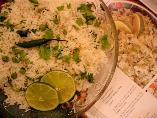Coconut Green Herb Rice