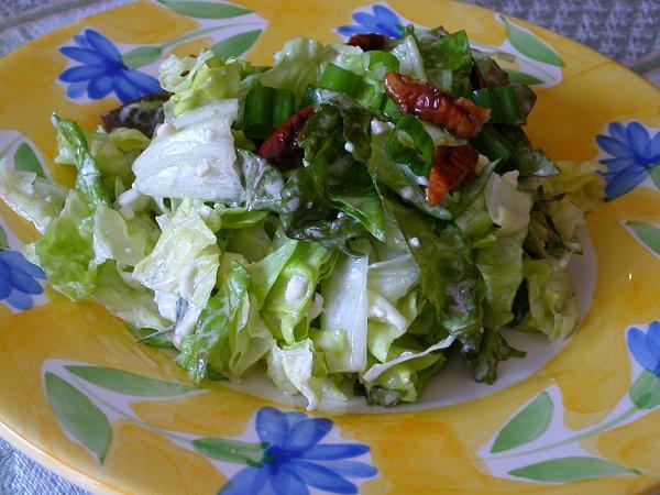 Chopped Blue Cheese Salad