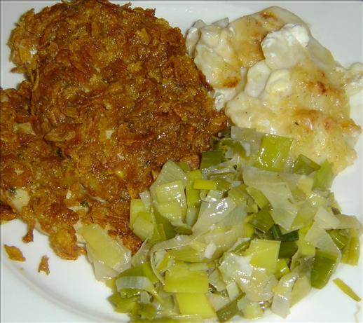 Crunchy Curried Chicken